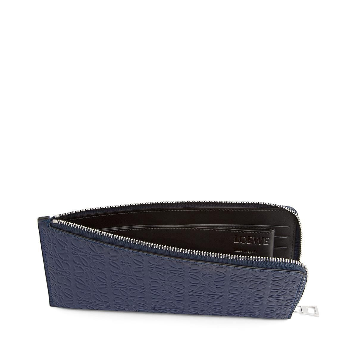 LOEWE Flat Zip Around Marine all