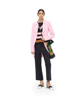 LOEWE Long Cutaway Jacket Pink front