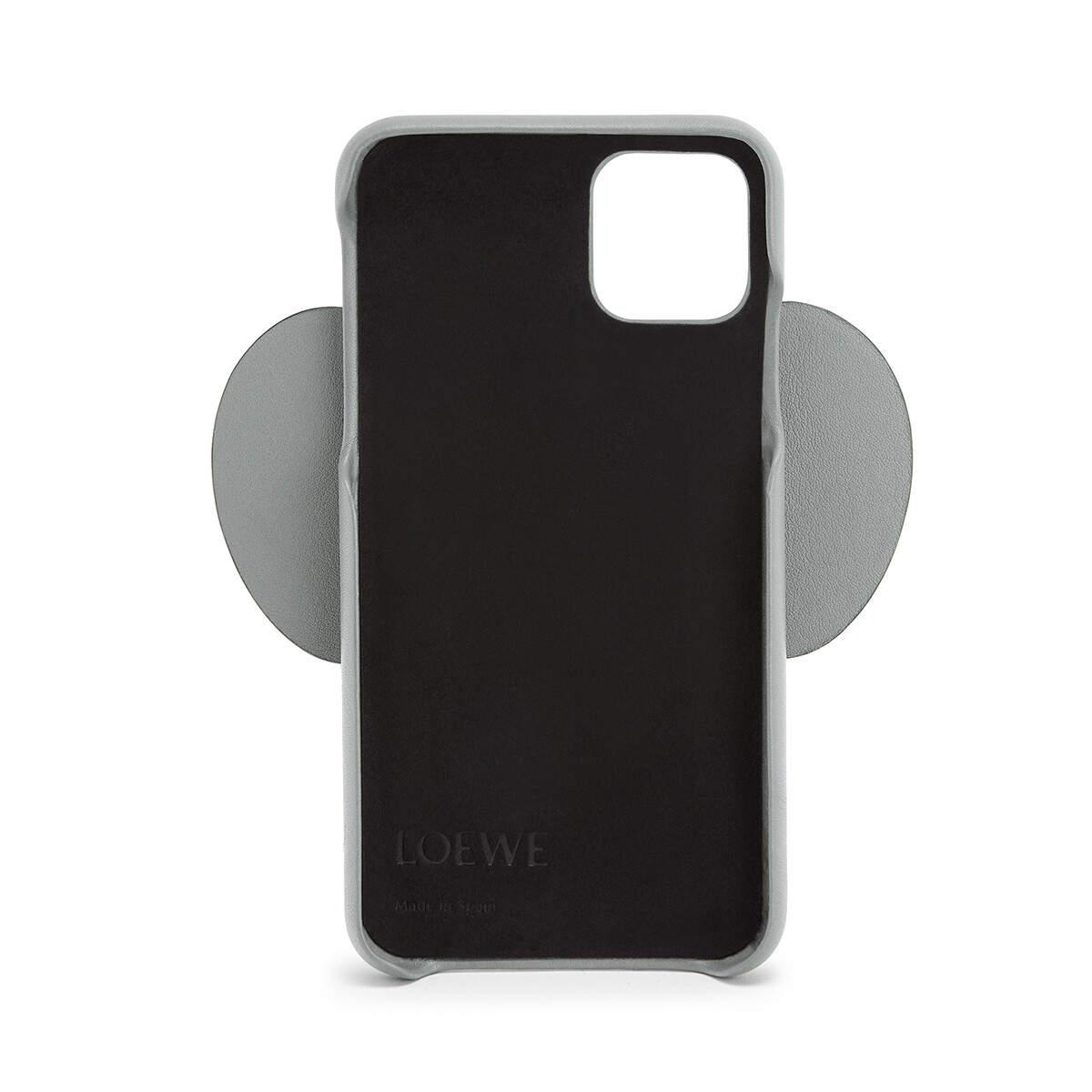 LOEWE Elephant Cover For Iphone 11 Gunmetal front