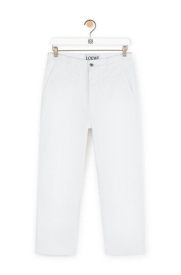 LOEWE Fisherman Jeans 白色 front
