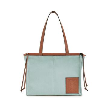 LOEWE Cushion Tote Bag 水色 front