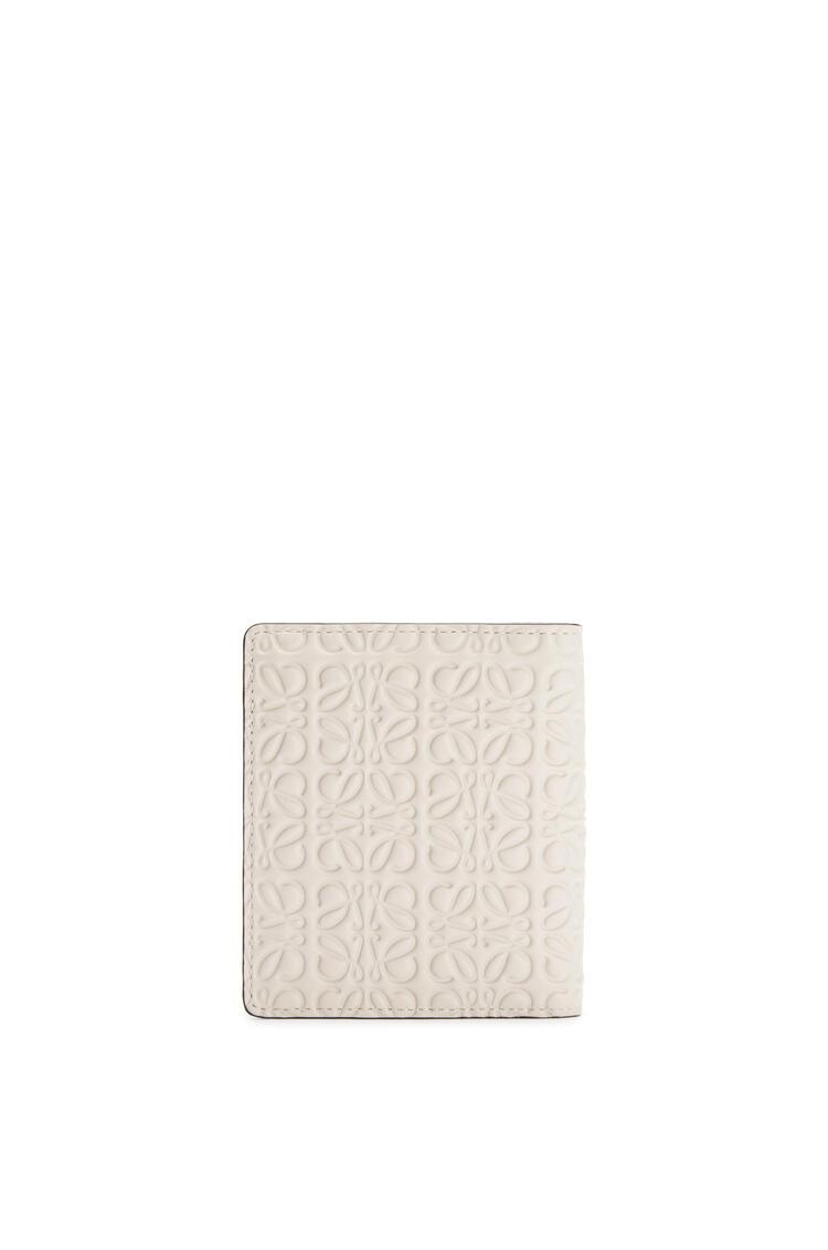 LOEWE Compact zip wallet in calfskin Light Oat pdp_rd