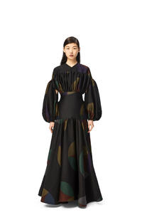 LOEWE Kaleidoscope jacquard dress Multicolor pdp_rd
