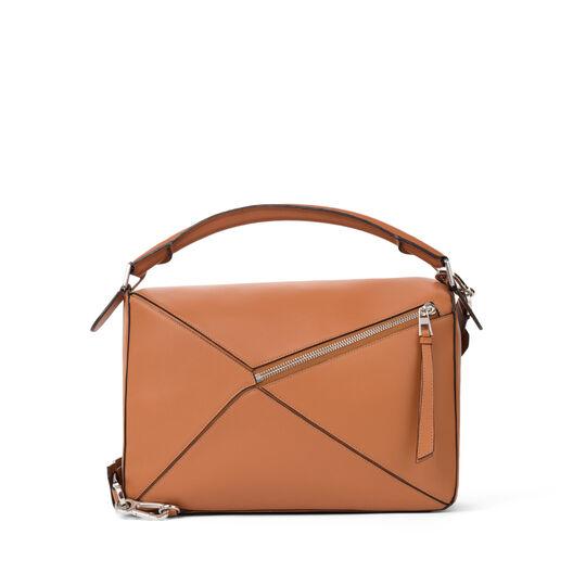 LOEWE Puzzle Bag 棕色 all