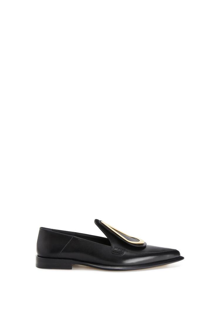 LOEWE Drop pointy loafer in calfskin 黑色 pdp_rd