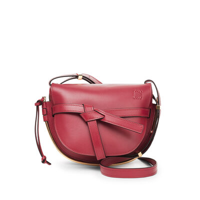 LOEWE Gate Frame Small Bag Rouge front