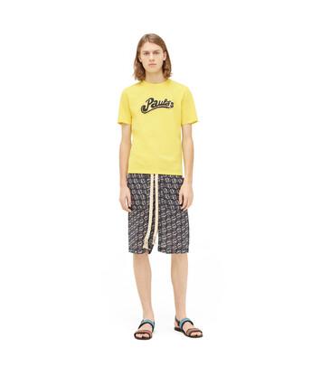 LOEWE Paula T-Shirt 黄色 front