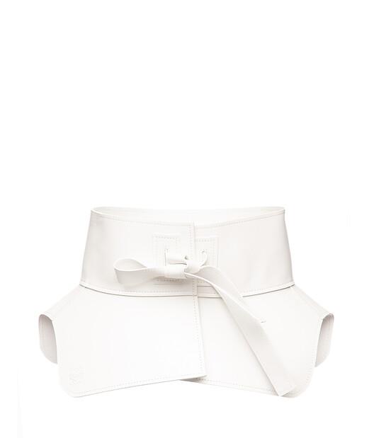 LOEWE Cinturon Obi Blanco front