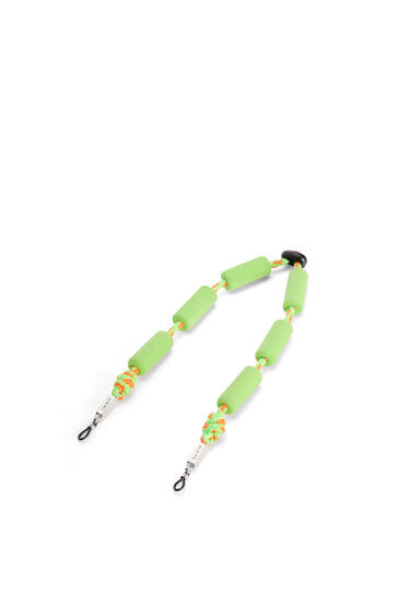 LOEWE Floaters Sunglasses Strap In Foam And Cord Neon Green pdp_rd