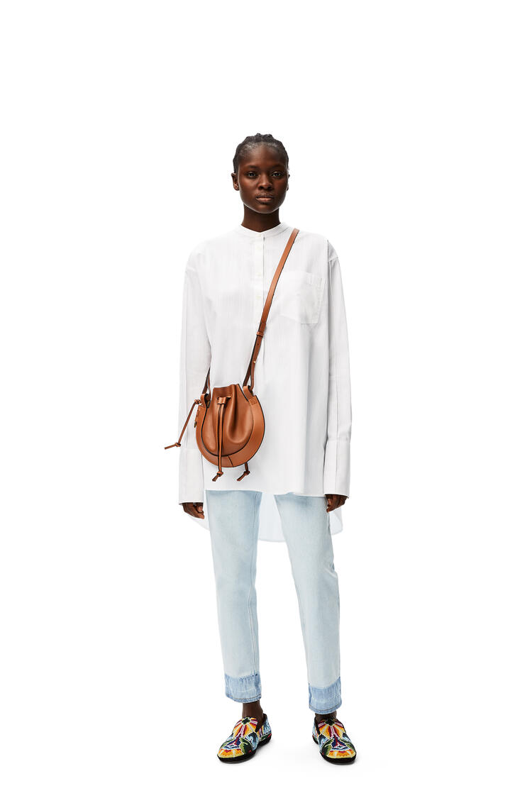 LOEWE Tunic top in cotton White pdp_rd
