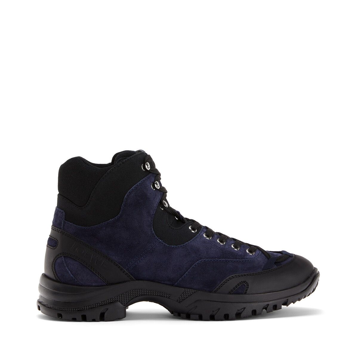 LOEWE Hiking Boot Eln Navy Blue/Black front