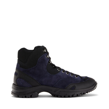 LOEWE Hiking Boot Eln Navy Blue/Black front