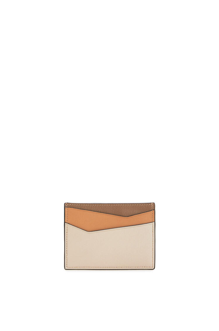 LOEWE パズル プレーン カードホルダー(クラシック カーフスキン) Warm Desert/Mink Color pdp_rd