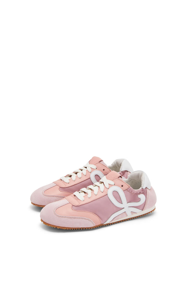 LOEWE Ballet runner in nylon and leather Light Pink pdp_rd