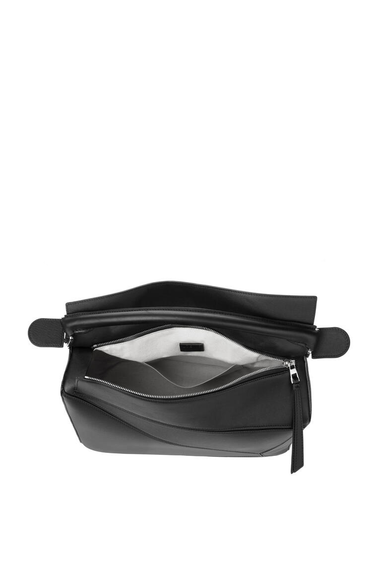 LOEWE Large Puzzle bag in classic calfskin Black pdp_rd
