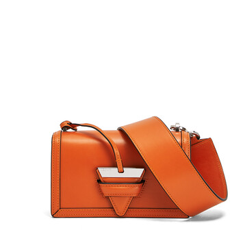 LOEWE Barcelona Small Bag Orange front