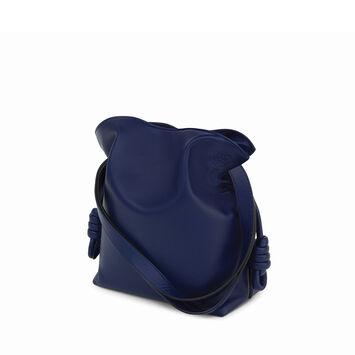 LOEWE Flamenco Knot Small Bag Marine front