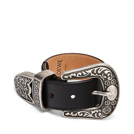 LOEWE Double Western Bracelet Black front