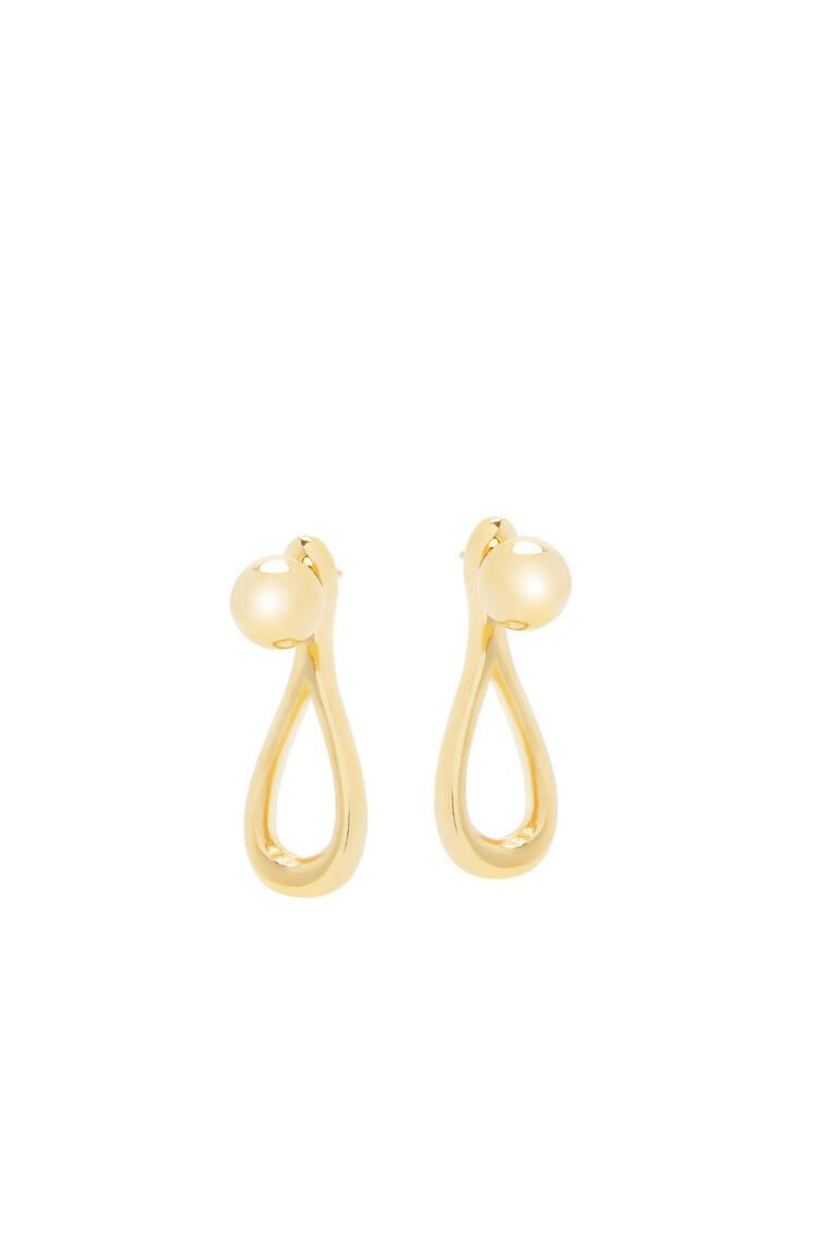 LOEWE Drop earrings in metal Gold pdp_rd