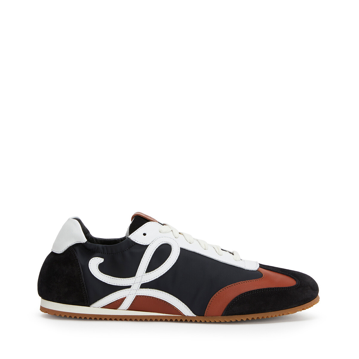LOEWE Ballet Runner Black/White/Brown front