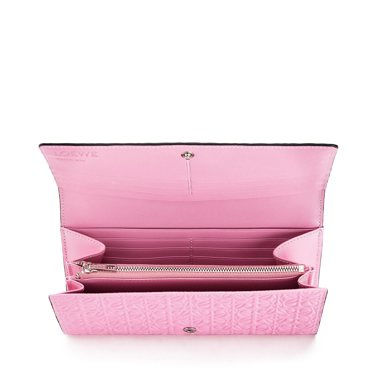 LOEWE Continental Wallet Candy front