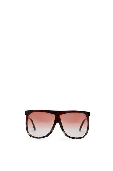 LOEWE Filipa Sunglasses in acetate Red/Rose Hav/Gr Stra pdp_rd