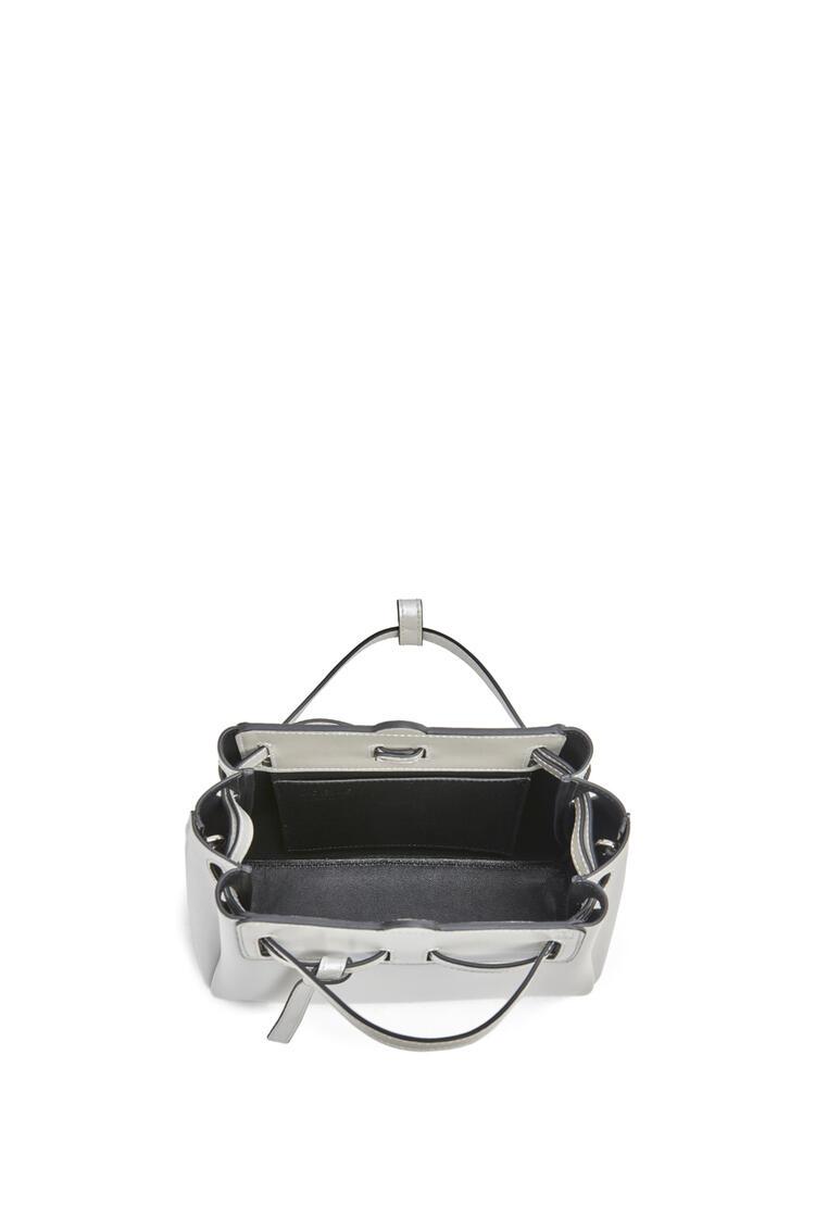 LOEWE Mini Lazo Bag In Pearlized Box Calfskin 白色 pdp_rd