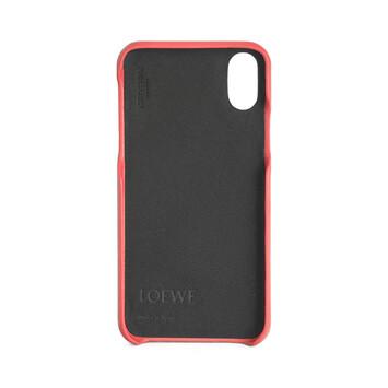 LOEWE Funda Para Iphone X Rosa Amapola front