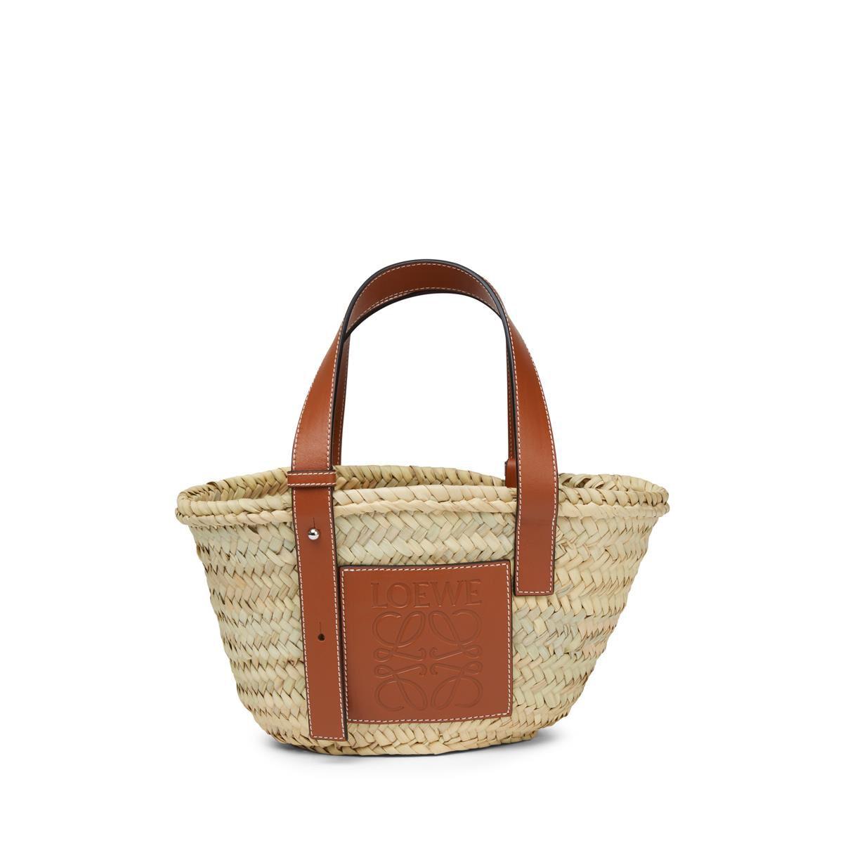 LOEWE Basket Small Bag 原色/棕褐色 all
