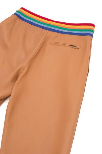 LOEWE Rainbow Rib Trousers Bronceado front