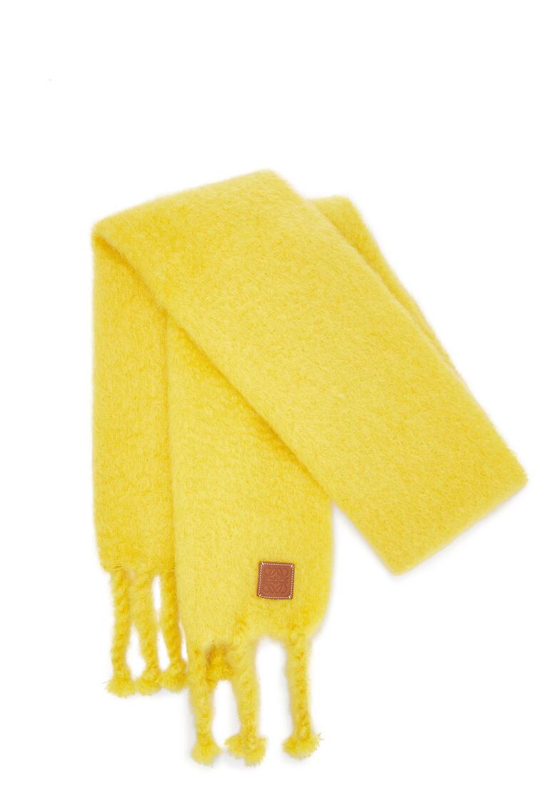 LOEWE 45X230 SCARF PLAIN Yellow pdp_rd