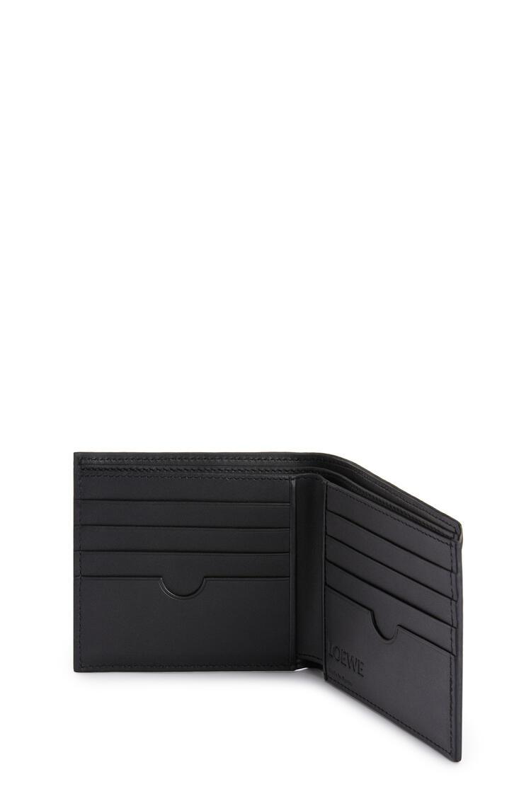LOEWE Bifold wallet in grained calfskin Dark Moss pdp_rd