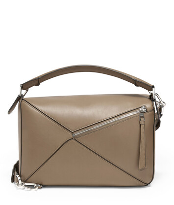 LOEWE Bolso Puzzle Grande Topo Oscuro front