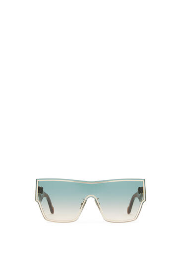 LOEWE Gafas De Sol Ss20 Mask Grande Aguamarina/Caramelo pdp_rd