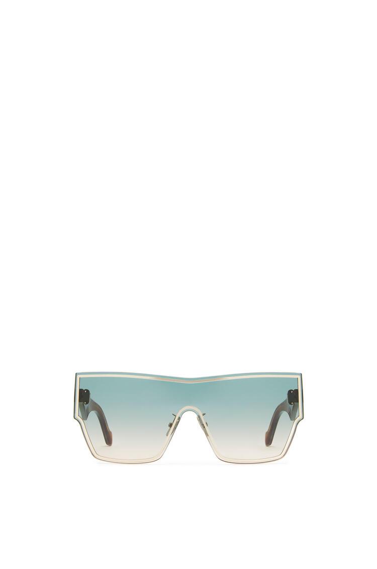 LOEWE Large Mask Sunglasses Aquamarine/Toffee pdp_rd