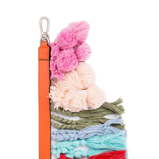 LOEWE Pompoms Strap Multicolor front