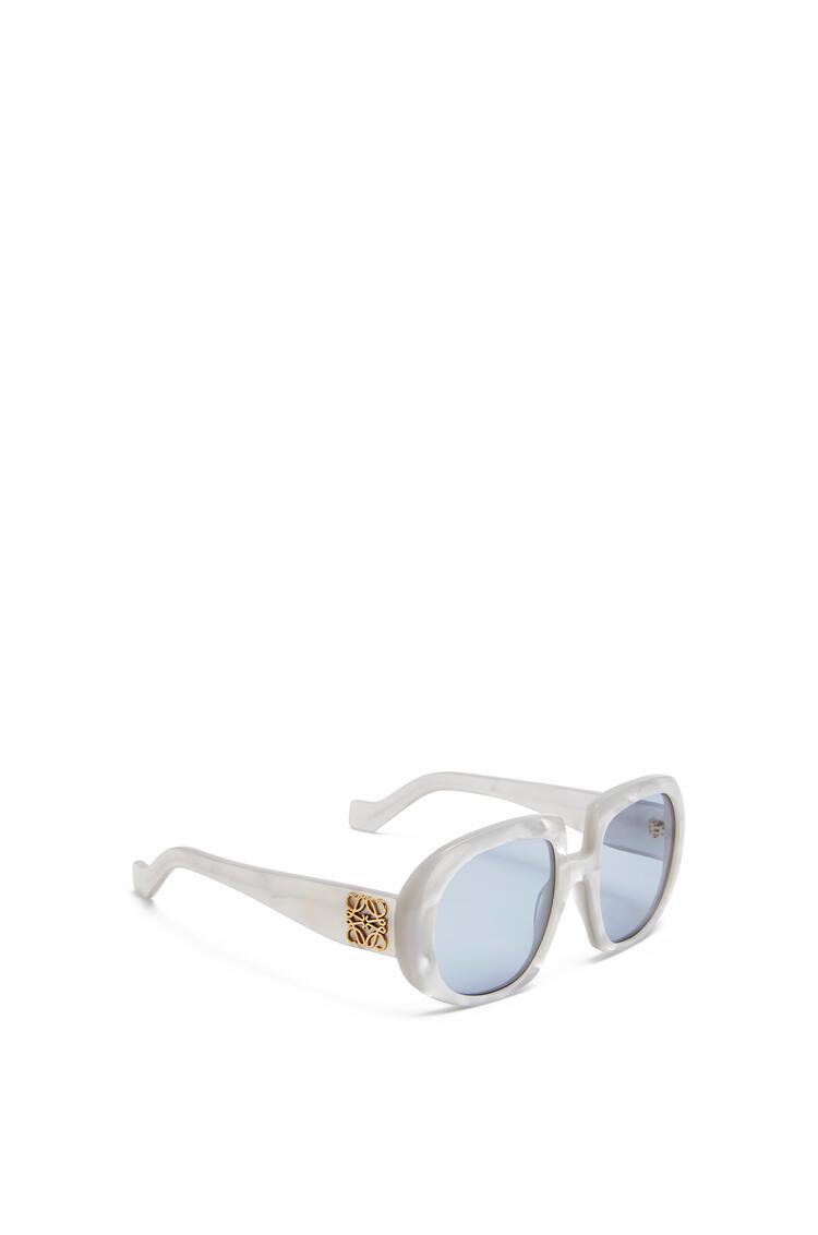 LOEWE アセテート アナグラム サングラス Grey Pearl/Blue pdp_rd