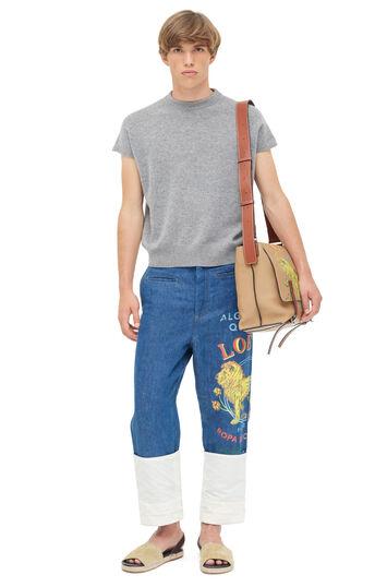 LOEWE Fisherman Trousers El Leon 靛蓝色 front