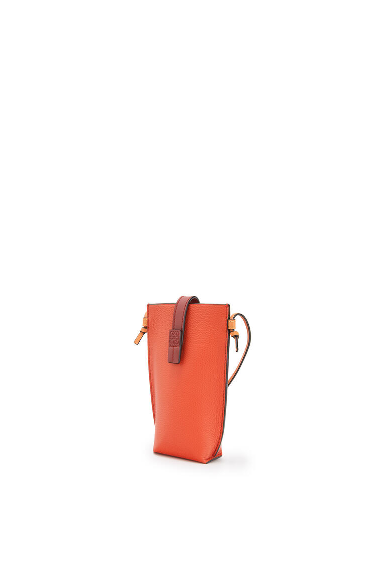 LOEWE Pocket in soft grained calfskin Coral/Soft Apricot pdp_rd
