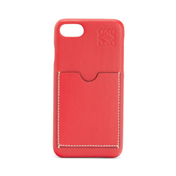 LOEWE Cover For Iphone 8 Poppy Pink front
