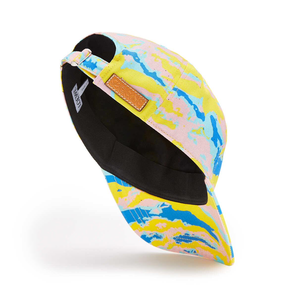 LOEWE Eye/Loewe/Nature Cap Camouflage Multicolor front