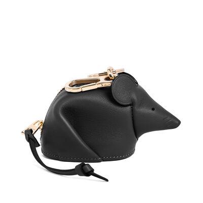 LOEWE マウス チャーム ブラック front