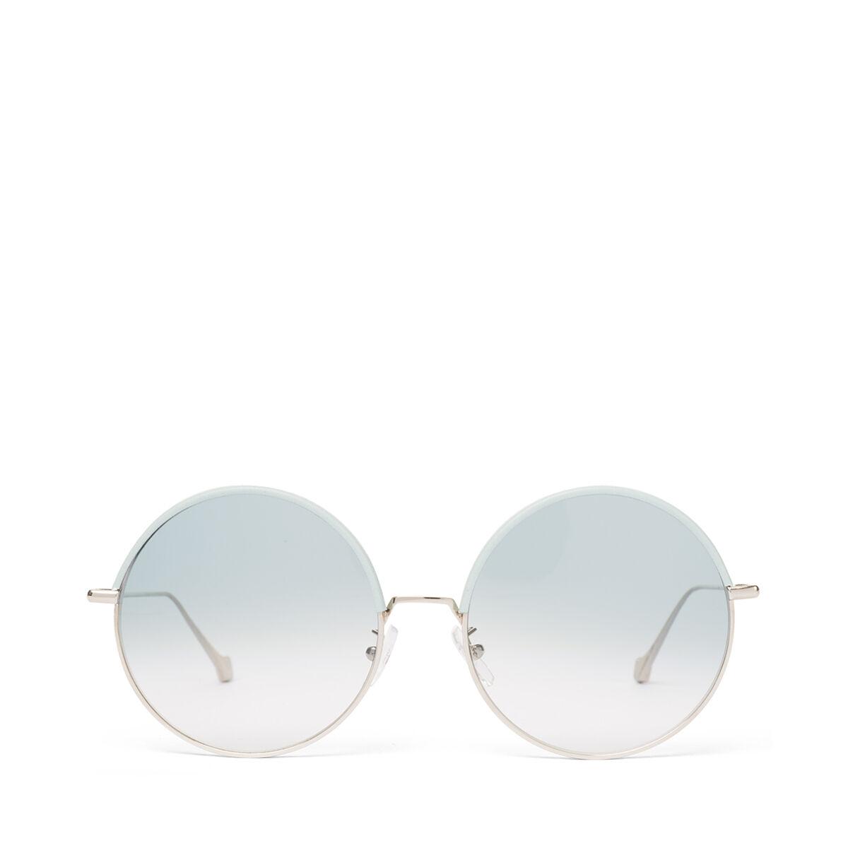 LOEWE Round Sunglasses Sky Blue/Gradient Turquoise all