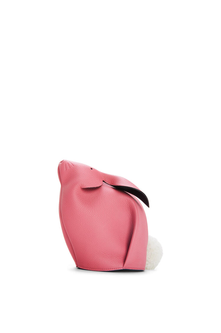 LOEWE Bunny bag in calfskin and shearling New Candy pdp_rd