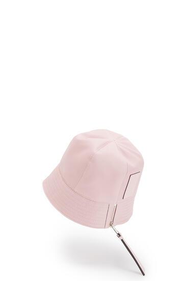LOEWE 纳帕小牛皮水桶帽 Icy Pink pdp_rd