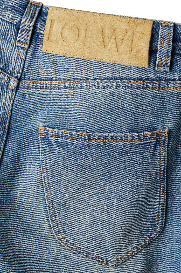 LOEWE Tapered jeans in cotton Washed Denim pdp_rd