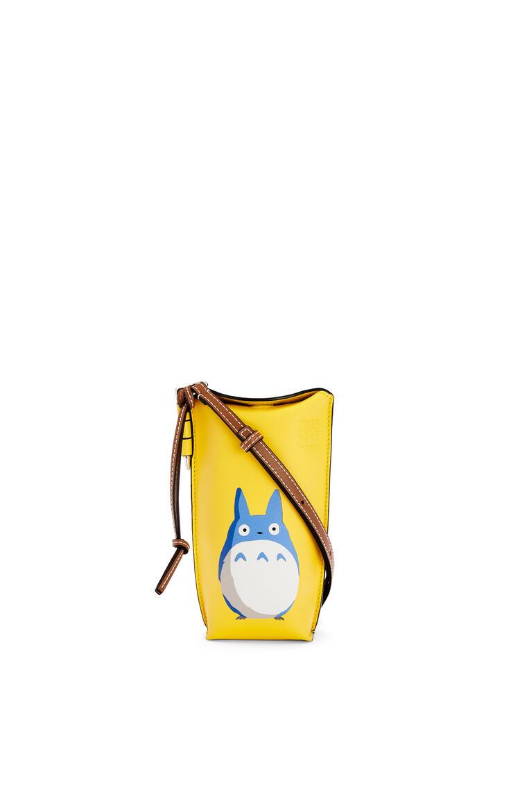 LOEWE Totoro Gate Pocket in soft calfskin Yellow pdp_rd