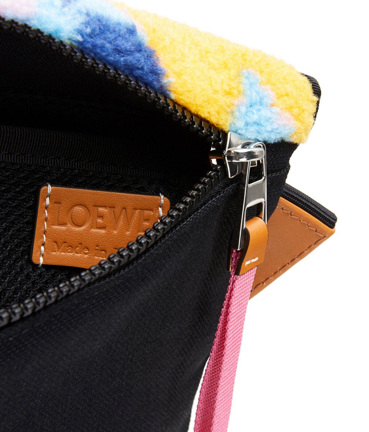 LOEWE Eye/Loewe/Nature Bolso Messenger Camuflaje Pequeño Multicolor front
