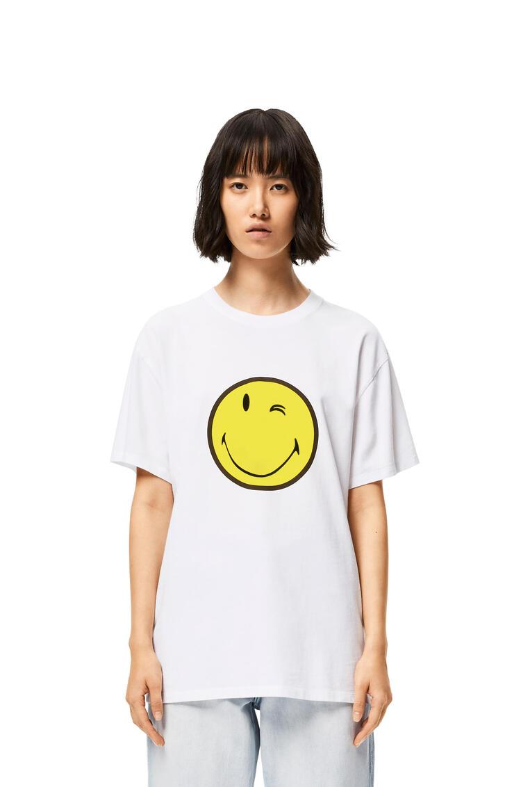 LOEWE SmileyWorld T-shirt in cotton White pdp_rd