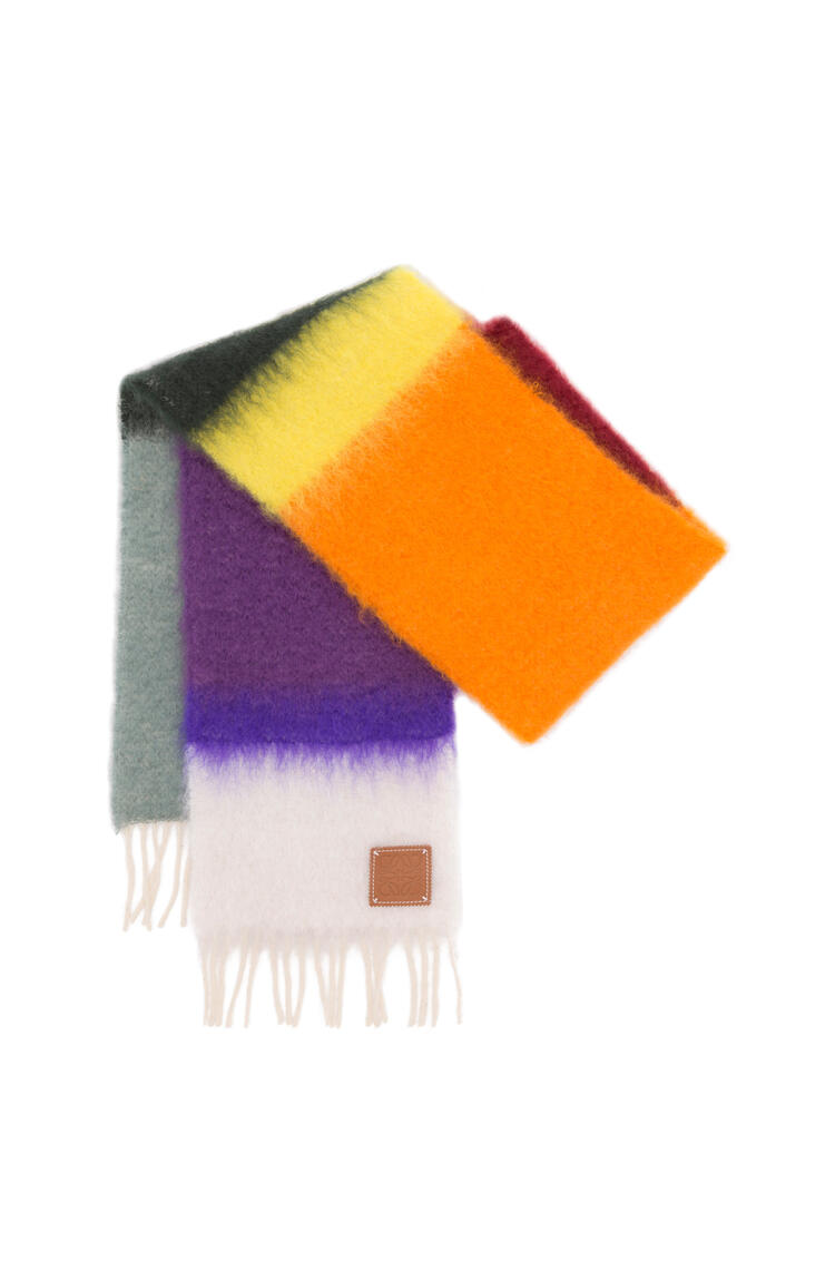 LOEWE 23X185 SCARF STRIPES Multicolor/White pdp_rd